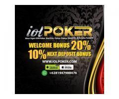 Iolpoker Agen Poker Terpercaya | Bandar Ceme | DominoQQ